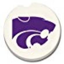 Kansas State Wildcats Ceramic Car Coasters (2 Pack)