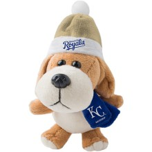 Kansas City Royals 4 inch Plush Dog Ornament