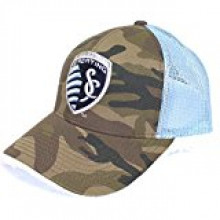 Kansas City Sporting 2-Tone Camouflage Adjustable Hat