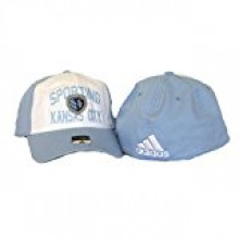 Kansas City Sporting Script Flex Fit Size L/XL Hat