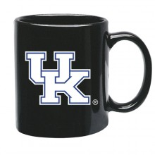 Kentucky Wildcats 15 oz Black Ceramic Coffee Cup