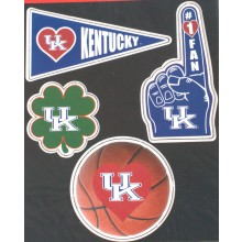 Kentucky Wildcats 4 piece Magnet Set