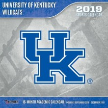 Kentucky Wildcats 12 x 12 Wall Calendar (2019)