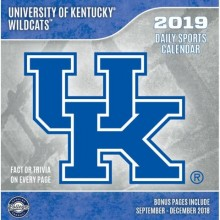 Kentucky Wildcats 2019 Boxed Desk Calendar