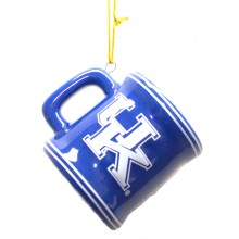 Kentucky Wildcats Ceramic Mini Mug Ornament