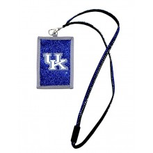 Kentucky Wildcats Beaded Lanyard I.D. Wallet