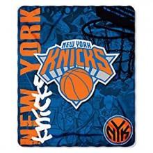 NBA New York Knicks Hardknocks Fleece Throw Blanket