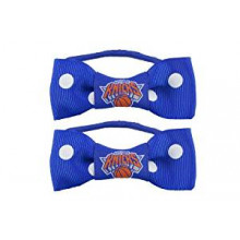 New York Knicks Bow Pigtail Holders