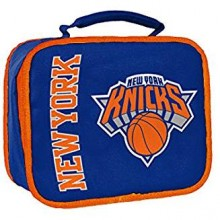 NBA Officially Licensed New York Knicks Orange Cuffed Pom Beanie Hat Cap Lid