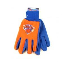 NBA New York Knicks Team Color Utility Gloves