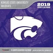 Kansas State Wildcats 12 x 12 Wall Calendar (2019)