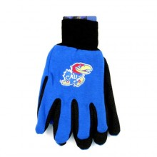 Kansas Jayhawks Team Color Utility Gloves