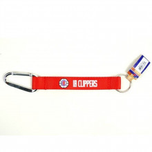 LA Clippers Carabiner Lanyard Key Chain