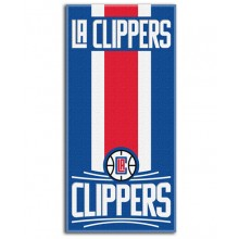 "NBA Offically Licensed LA Clippers Striped 30"" x 60"" Beach Towel"