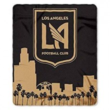 Los Angeles FC Light Weight Fleece Blanket