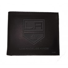 Los Angeles Kings  Black Leather Bi-Fold Wallet