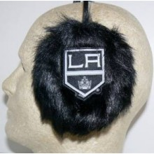 Los Angeles Kings Embroidered Faux Fur Team Logo Earmuffs Cheermuffs