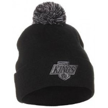 Los Angeles Kings Black Pom Beanie