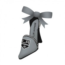 Los Angeles Kings Team High Heel Shoe Ornament