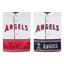 "Los Angeles Angels of Anaheim 12.5"" x 18"" Double-Sided Jersey Foil Garden Flag'"
