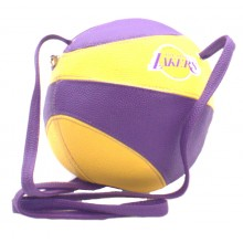 NBA LA Lakers Basketball Crossbody Purse