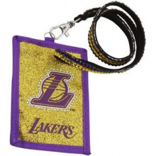 Los Angeles Lakers Beaded Lanyard I.D. Wallet