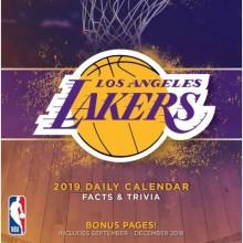 Los Angeles Lakers 2019 Boxed Desk Calendar