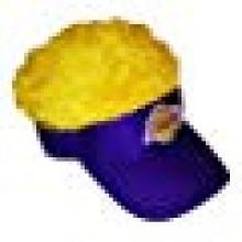 Los Angeles Lakers Flair Hair Adjustable Visor