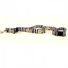 Los Angeles Lakers Zebra Stripe Breakaway Lanyard Key Chain