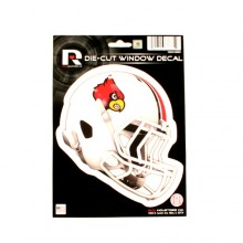 "Louisville Cardinals 6"" Helmet Die-Cut Window Decal"