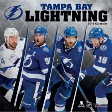 Tampa Bay Lightning 12 x 12 Wall Calendar 2019