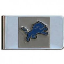 Detroit Lions Bar Money Clip