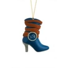 Detroit Lions Hanging Boot Ornament