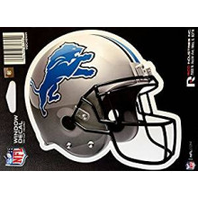 "Detroit Lions 6"" Helmet Die-Cut Window Decal"