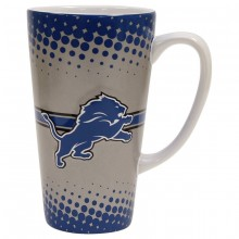 Detroit Lions 16-ounce Sculpted Latte Mug
