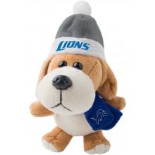 Detroit Lions 4 inch Plush Dog Ornament