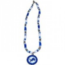 Detroit Lions Shell Necklace, 18-Inch, White