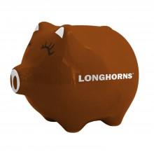 Texas Longhorns Ceramic Piggy Bank