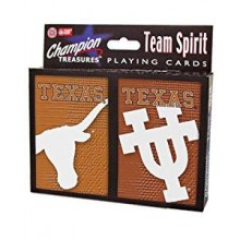 Texas Longhorns 2 Packs of Playing Cards