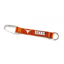 NCAA Texas Longhorns Carabiner Lanyard Key Chain