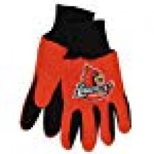 Louisville Cardinals Children's Team Color Utility Gloves
