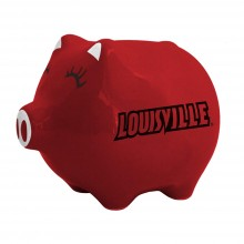 Louisville Cardinals Ceramic Piggy Bank
