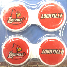Louisville Cardinals Contact Lens Case 2 Pack