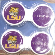 LSU Tigers Contact Lens Case 2 Pack