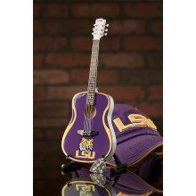 LSU Tigers 1:4 Scale Mini Guitar