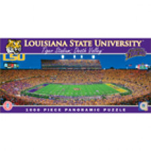 LSU Tigers  1000 pc. Panoramic Puzzle