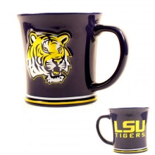LSU Tigers  15 Oz Relief Mug