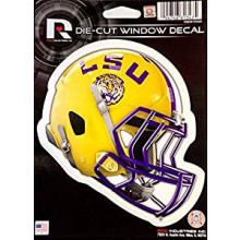 "LSU Tigers 6"" Helmet Die-Cut Window Decal"