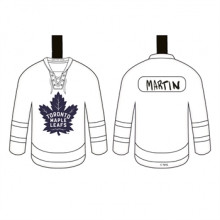 Toronto Maple Leafs Color Your Own Ceramic Jersey Ornament