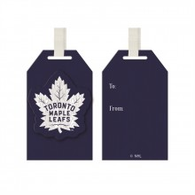 Toronto Maple Leafs Wooden Gift Tag Ornament